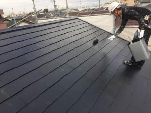 西尾市屋根遮熱塗装