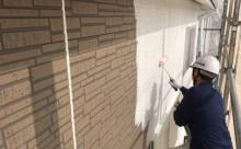 愛知県西尾市碧南市岡崎市安城市外壁超低汚染無機フッ素塗装屋根ガイナ塗装色褪せクラック汚れシール割れ外壁下塗り