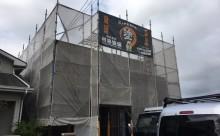 愛知県西尾市碧南市岡崎市安城市外壁超低汚染無機フッ素塗装屋根ガイナ塗装色褪せクラック汚れシール割れ足場
