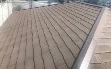 愛知県西尾市碧南市岡崎市安城市外壁超低汚染無機フッ素塗装屋根ガイナ塗装色褪せクラック汚れシール割れ屋根現状