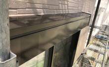 愛知県西尾市碧南市岡崎市安城市外壁超低汚染無機フッ素塗装屋根ガイナ塗装色褪せクラック汚れシール割れシャッターボックス施工後
