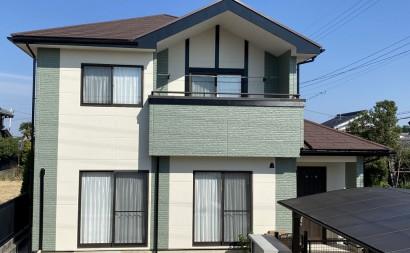 西尾市、無機フッ素塗装、屋根遮熱塗装